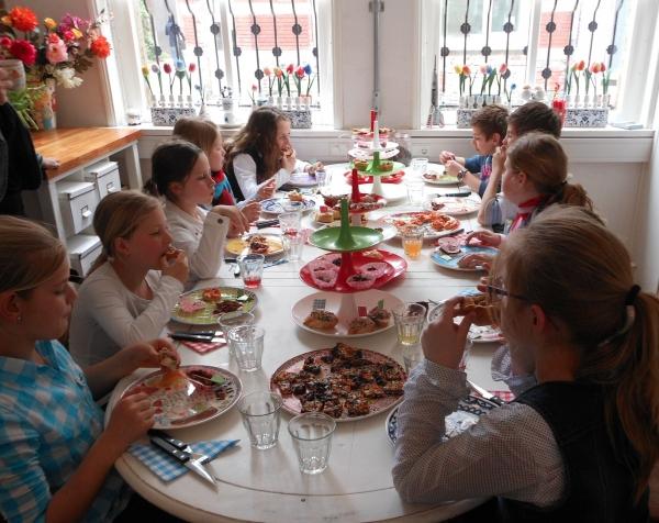 Nieuw High-tea kinderfeestje Tilburg Brabant RU-68